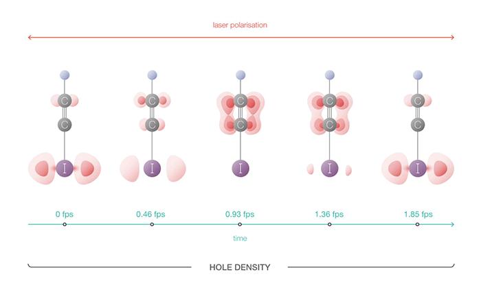 Движением отдельных электронов в молекуле можно управлять - 1
