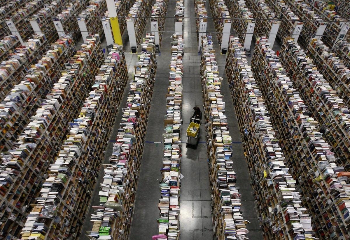 На складах Amazon теперь работает 30 тысяч роботов вместо 15 тысяч (+ фото со складов компании) - 11