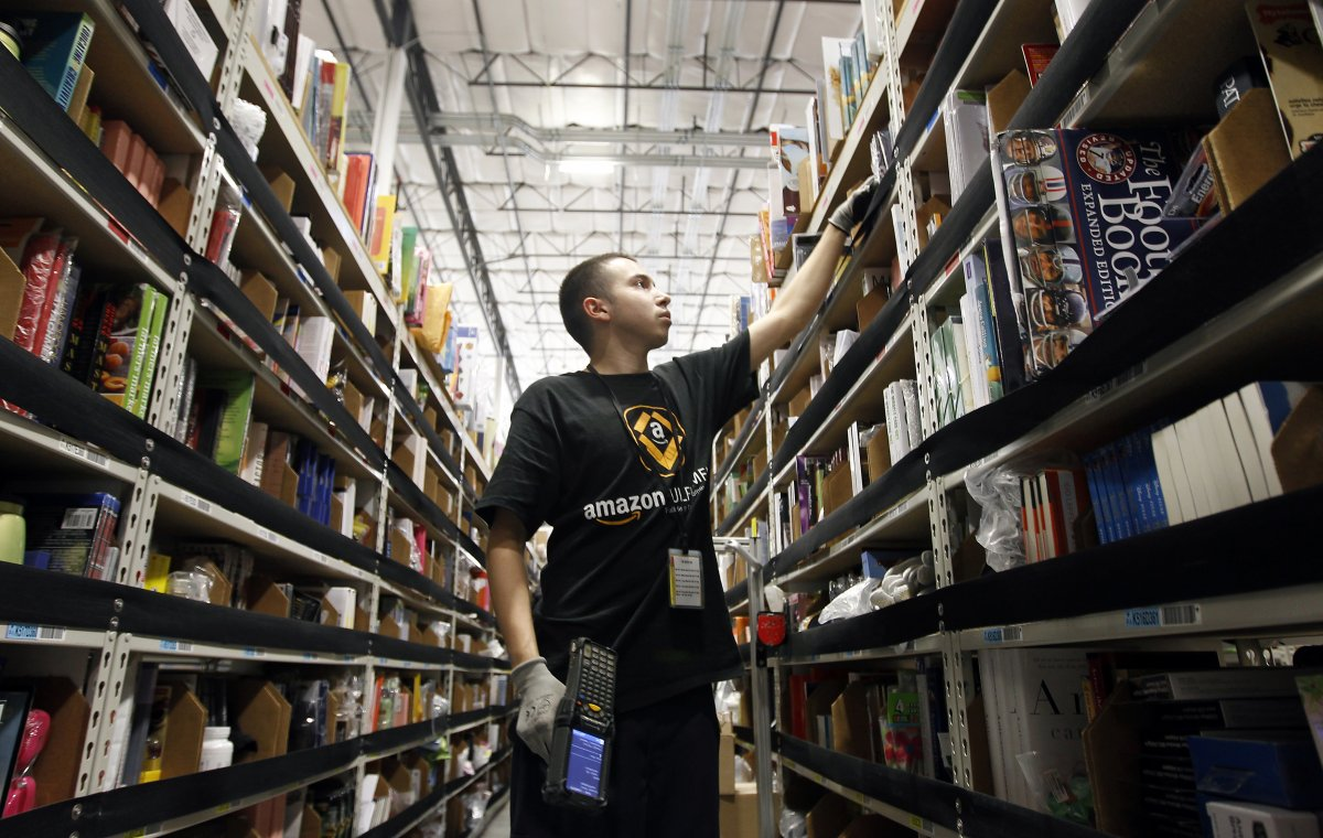 На складах Amazon теперь работает 30 тысяч роботов вместо 15 тысяч (+ фото со складов компании) - 13