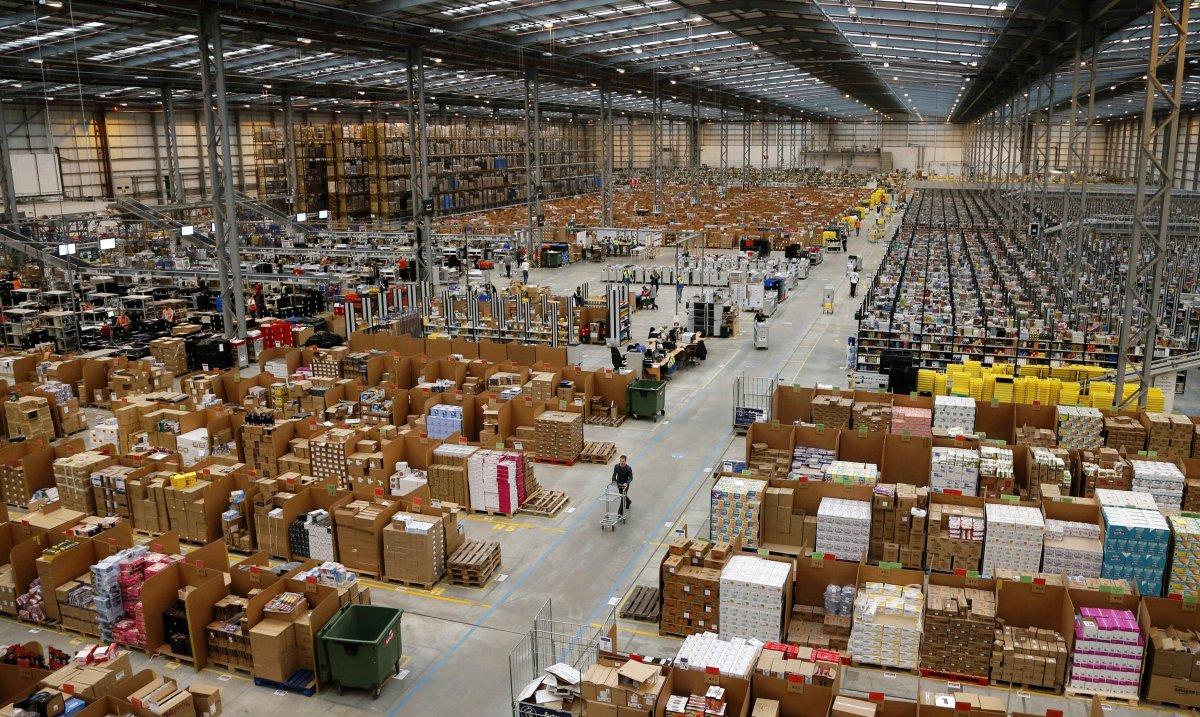 На складах Amazon теперь работает 30 тысяч роботов вместо 15 тысяч (+ фото со складов компании) - 2