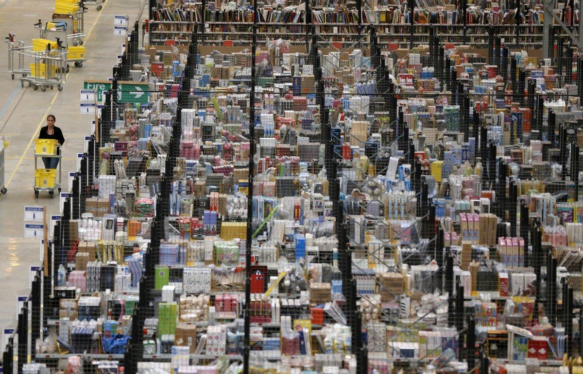 На складах Amazon теперь работает 30 тысяч роботов вместо 15 тысяч (+ фото со складов компании) - 6