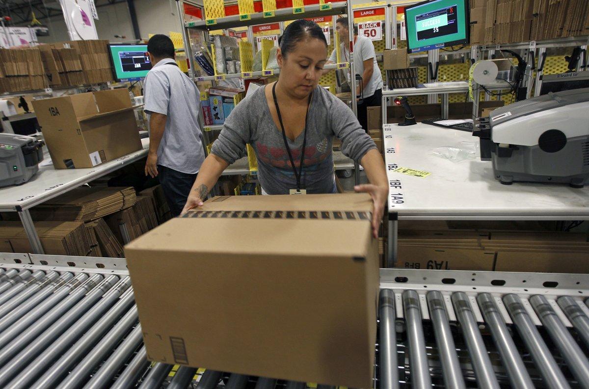 На складах Amazon теперь работает 30 тысяч роботов вместо 15 тысяч (+ фото со складов компании) - 8