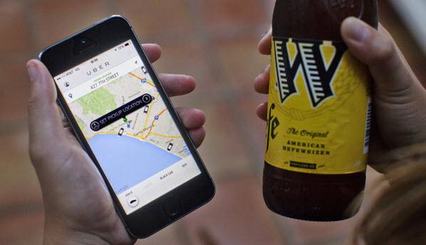 В Нью-Джерси такси Uber бесплатно развозят перебравших водителей по домам