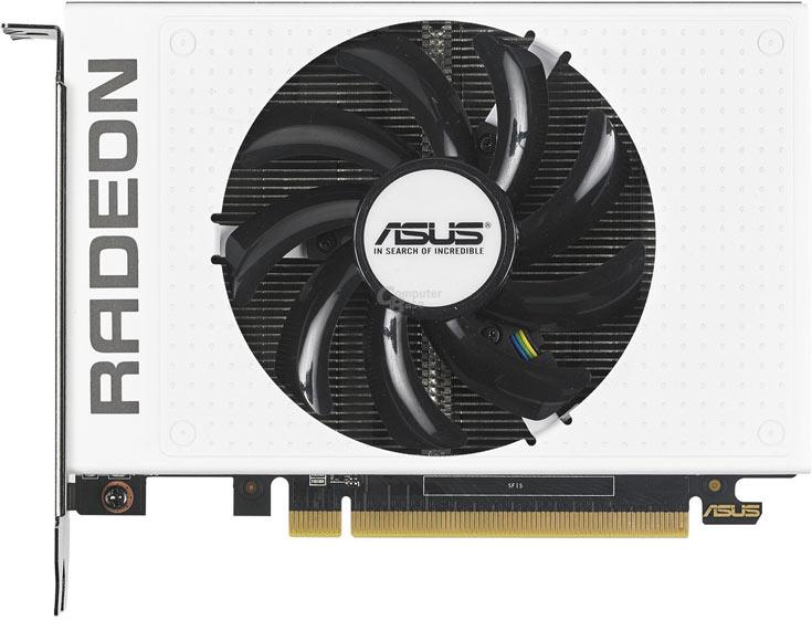 Белый вариант 3D-карты Asus Radeon R9 Nano выпущен ограниченной серией