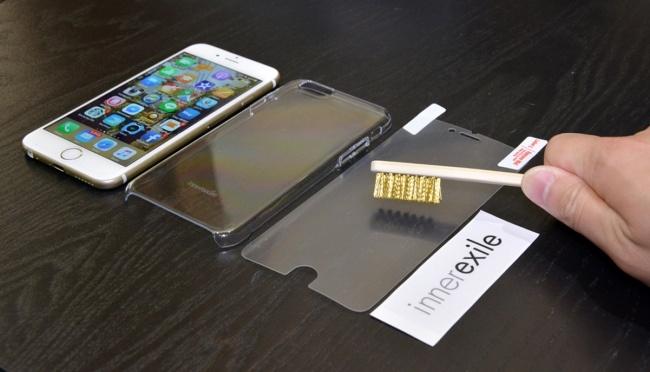 Царапины на пленке и бампере для iPhone от Innerexile исчезают за секунду