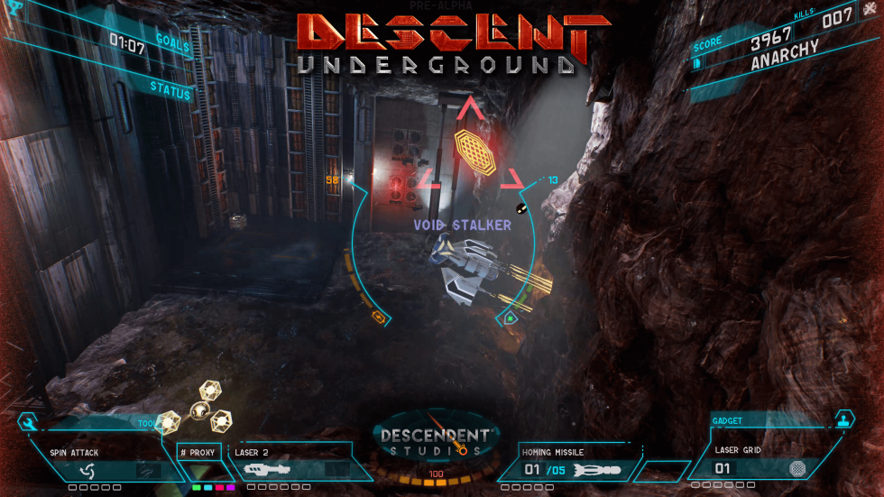Легенда снова с нами: Descent: Underground уже в Steam - 6