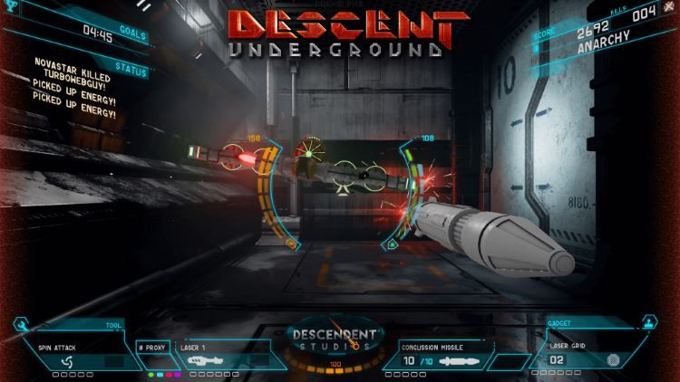 Легенда снова с нами: Descent: Underground уже в Steam - 1