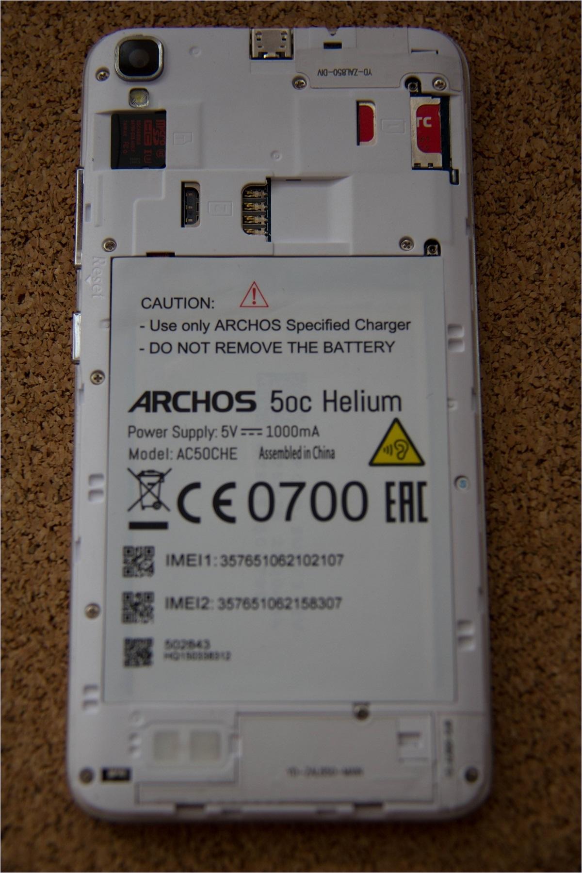 Обзор смартфона Archos 50c Helium - 10