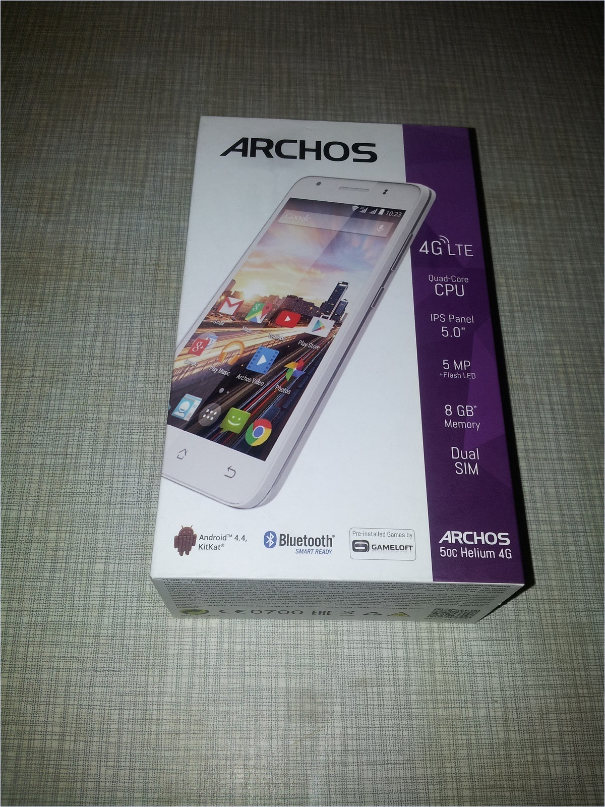 Обзор смартфона Archos 50c Helium - 2