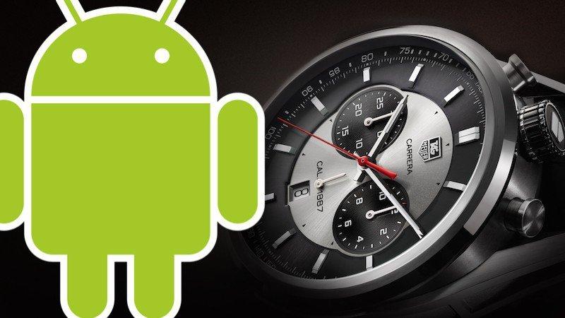 Первые смарт-часы премиум-класса на Android Wear — TAG Heuer Connected появятся в продаже 9 ноября - 1