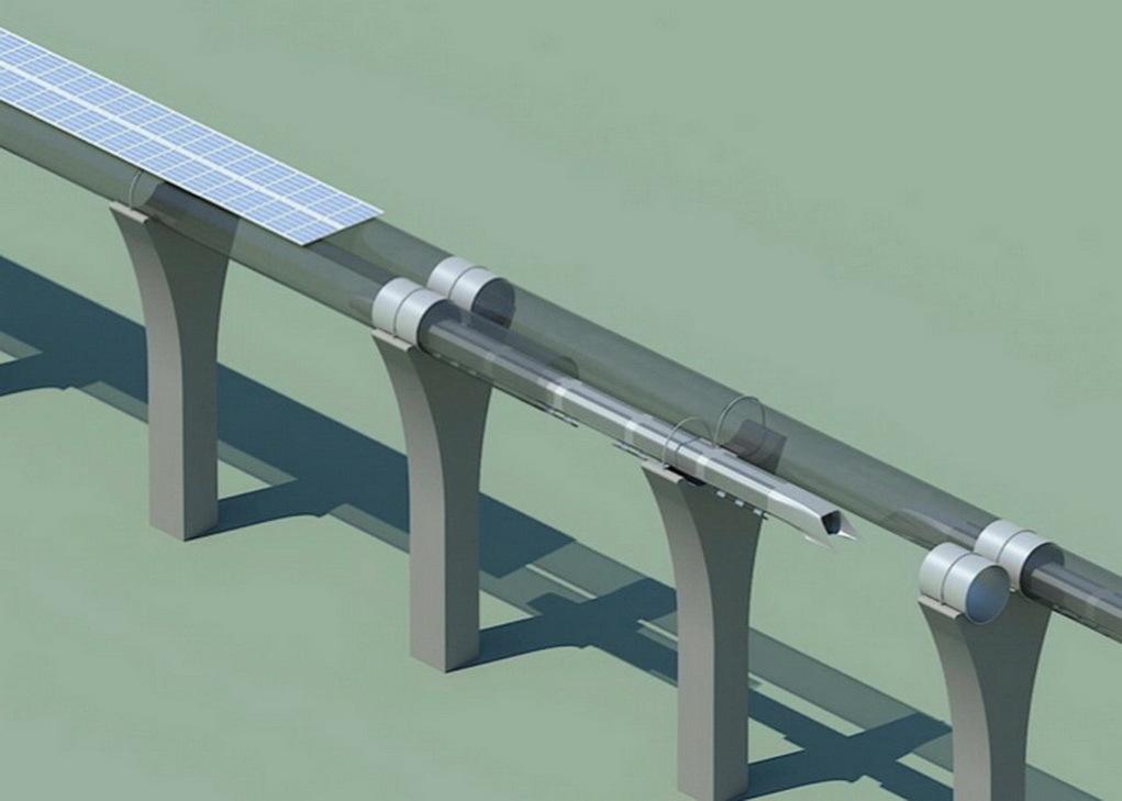 Стартует строительство тестового трека Hyperloop длиной в 5 миль - 5