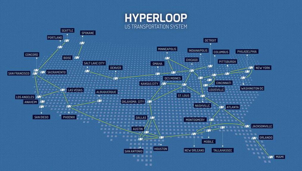 Стартует строительство тестового трека Hyperloop длиной в 5 миль - 8