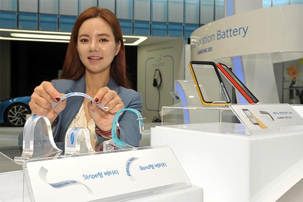 Новые аккумуляторы Samsung позволят увеличить время автономной работы носимых электронных устройств