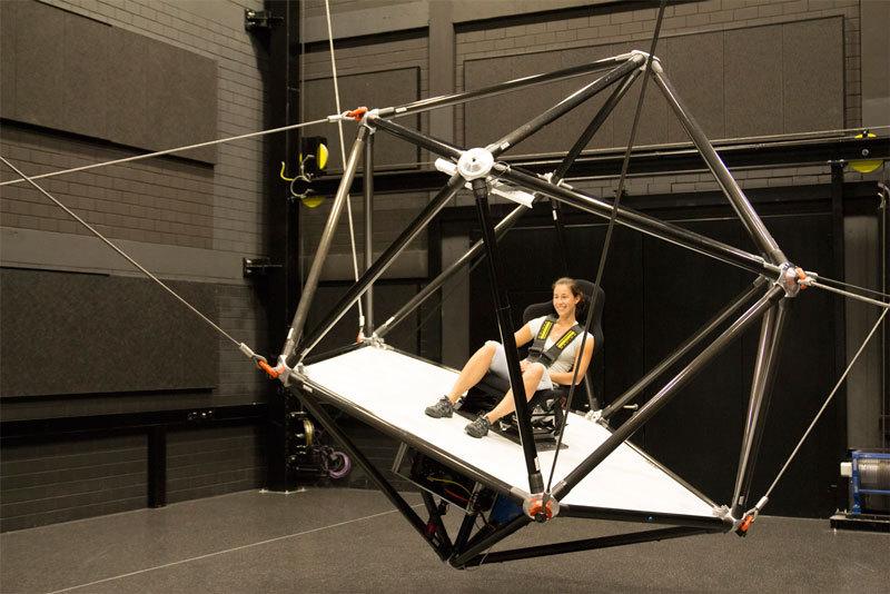 Улётный симулятор для виртуальной реальности от Общества Макса Планка - 1
