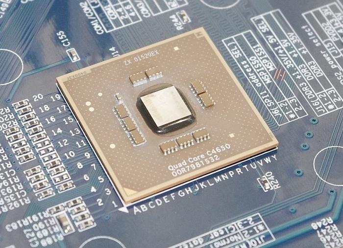 Процессор VIA C4650 протестировали с конкурентами