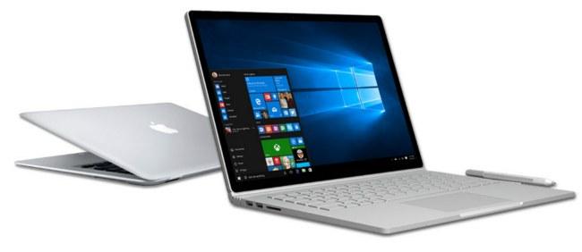 Microsoft запустила сайт, который поможет бывшим пользователям MacBook перейти на Surface Book