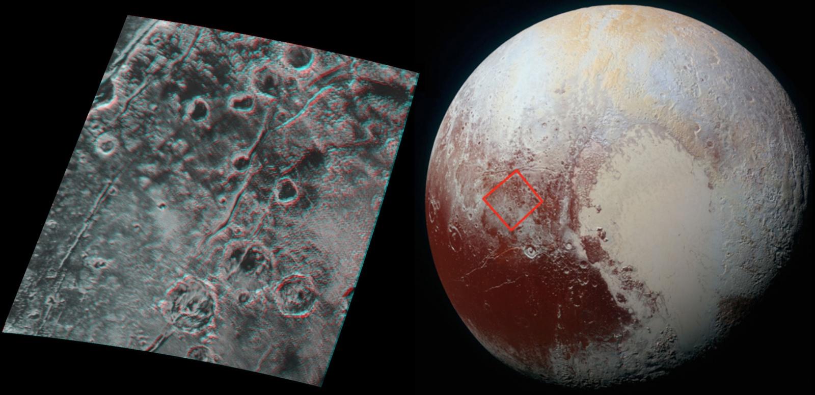 NASA выложило снимок Плутона в 3D - 2