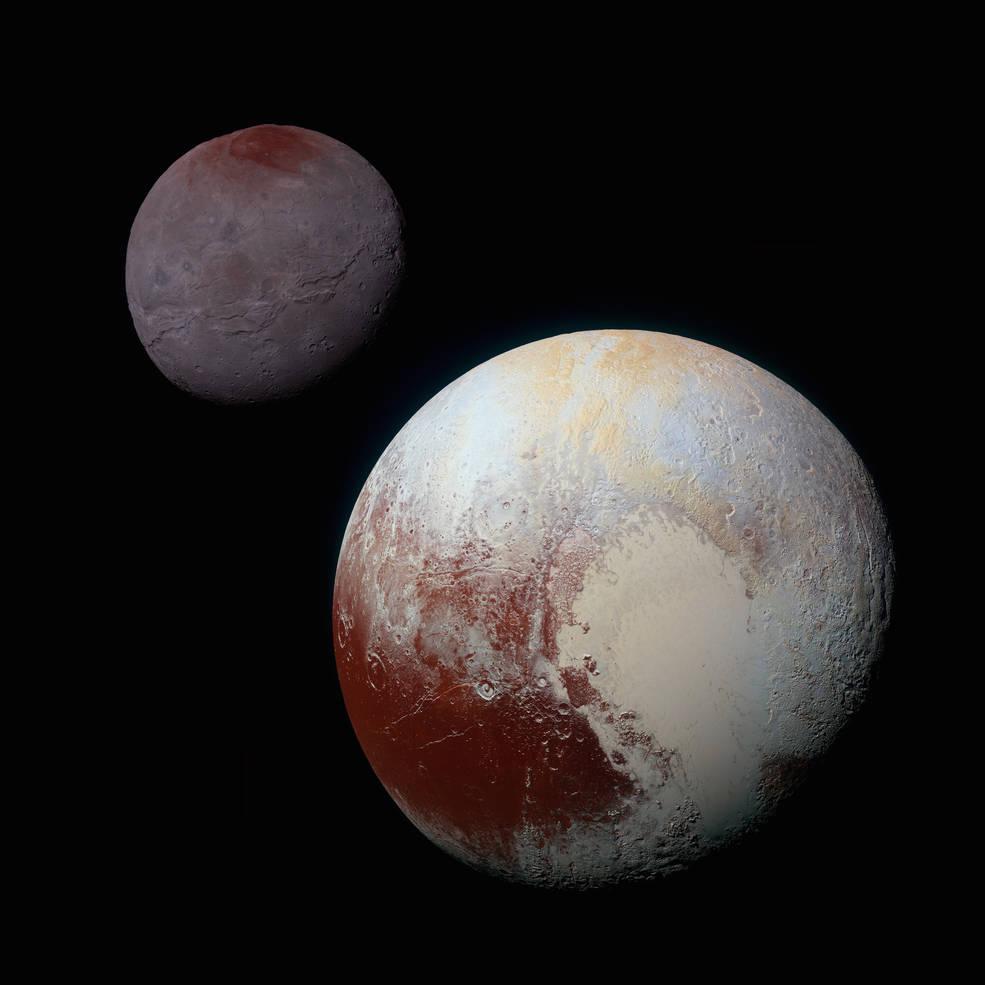 NASA выложило снимок Плутона в 3D - 1
