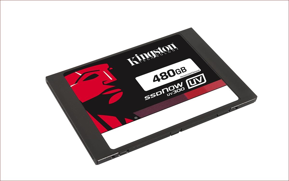 [Анонс] Kingston выпускает SSD начального уровня UV300 емкостью до 480 гигабайт - 1