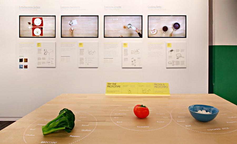 Интерактивный кухонный столик All-in-one — гость из будущего - 2