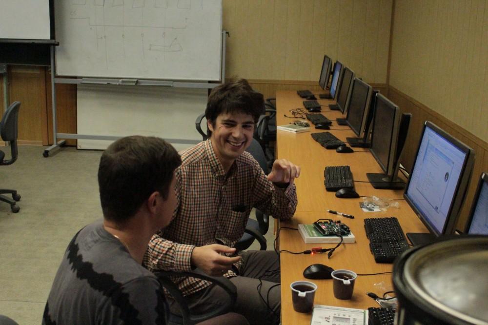 Провели семинар по процессору на ПЛИС MIPSfpga в МИЭТ - 7