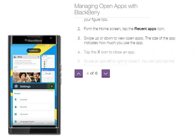 Смартфон BlackBerry Priv поддерживает оконный режим для приложений