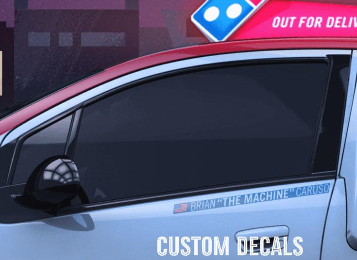 Автомобиль для доставки пиццы Domino's DXP оборудован печью
