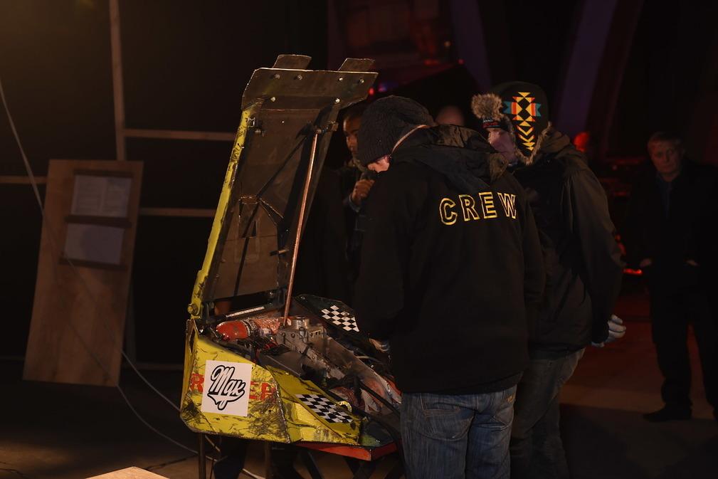 Фотоотчет с открытия боев роботов «Бронебот: Осенний разогрев» - 11