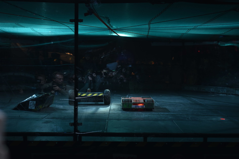 Фотоотчет с открытия боев роботов «Бронебот: Осенний разогрев» - 17