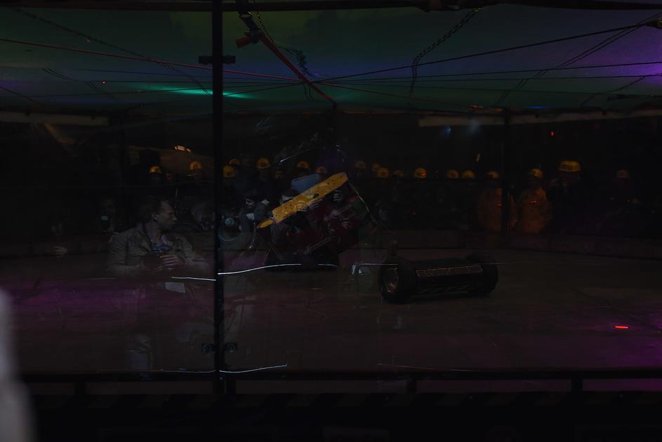 Фотоотчет с открытия боев роботов «Бронебот: Осенний разогрев» - 18