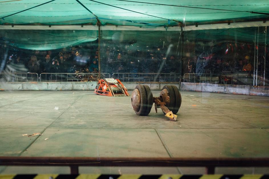 Фотоотчет с открытия боев роботов «Бронебот: Осенний разогрев» - 28