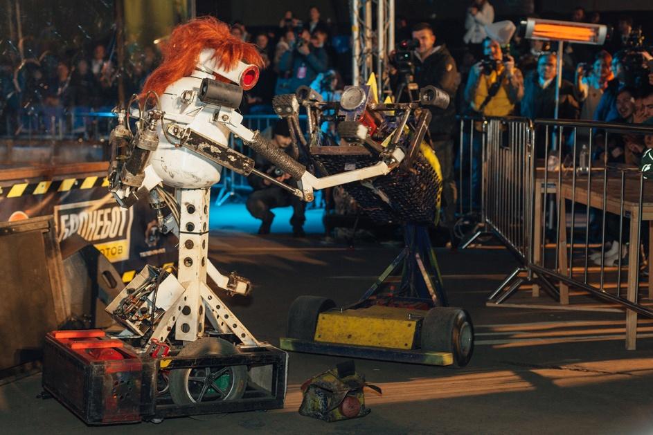 Фотоотчет с открытия боев роботов «Бронебот: Осенний разогрев» - 35