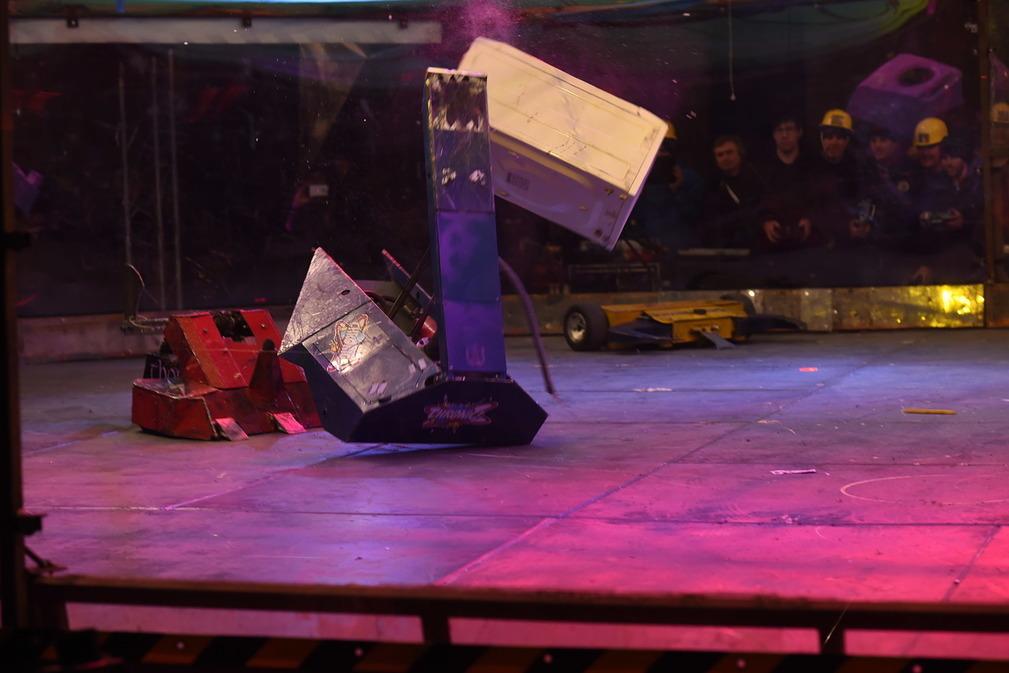 Фотоотчет с открытия боев роботов «Бронебот: Осенний разогрев» - 46