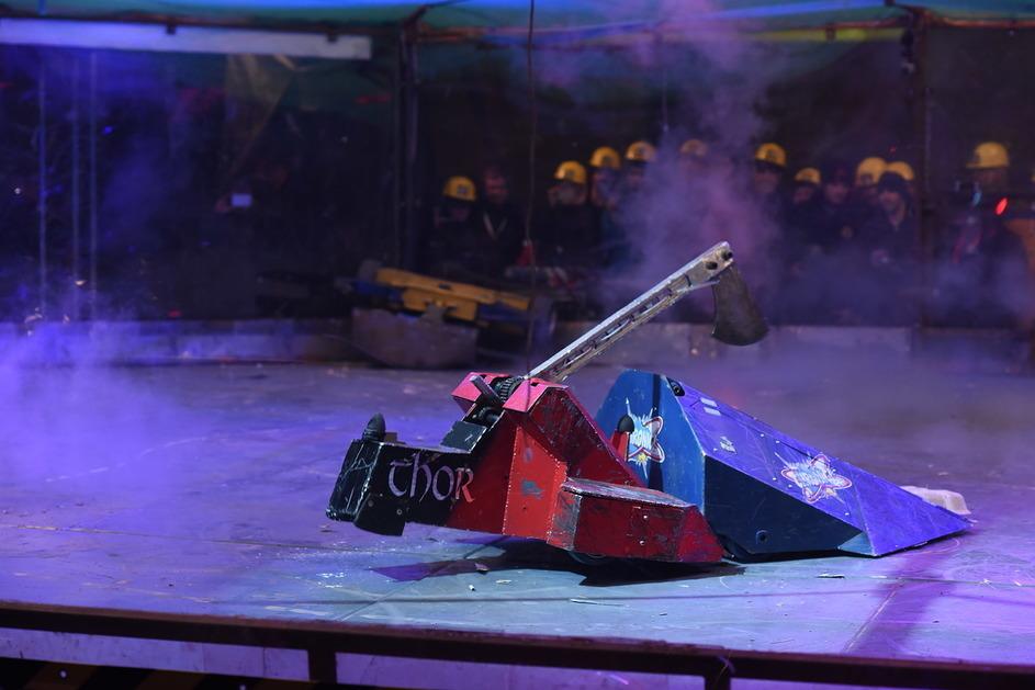 Фотоотчет с открытия боев роботов «Бронебот: Осенний разогрев» - 48