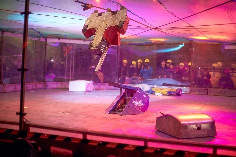 Фотоотчет с открытия боев роботов «Бронебот: Осенний разогрев» - 53