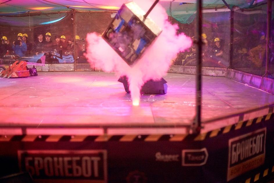 Фотоотчет с открытия боев роботов «Бронебот: Осенний разогрев» - 55