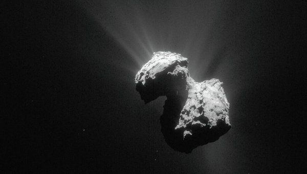 На комете Чурюмова-Герасименко обнаружен молекулярный кислород - 1