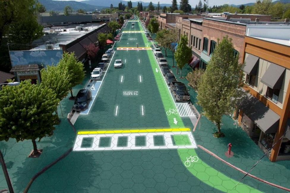 Найден способ превратить гигантскую дорожную сеть США в одну большую солнечную панель - 1