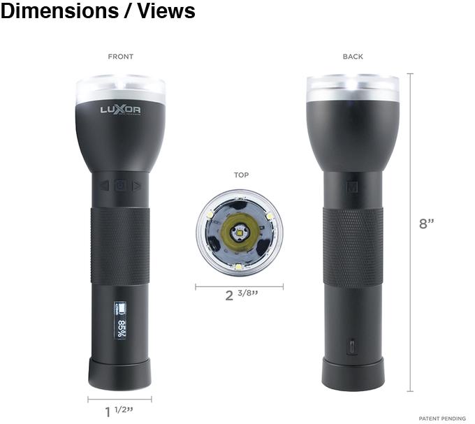 Luxor 2: первый в мире фонарик с автофокусом - 7