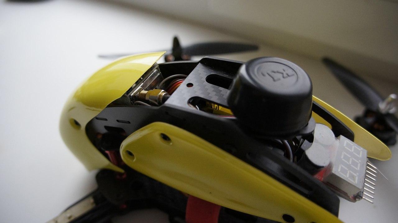 Гоночный квадрокоптер с FPV для нерезинового бюджета – Robocat 270 - 10