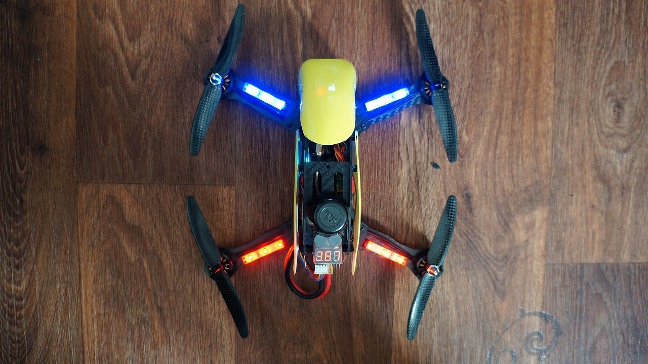 Гоночный квадрокоптер с FPV для нерезинового бюджета – Robocat 270 - 11