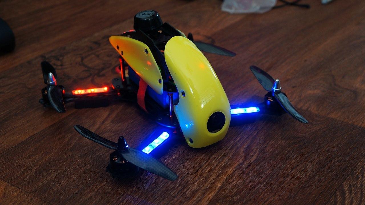 Гоночный квадрокоптер с FPV для нерезинового бюджета – Robocat 270 - 12