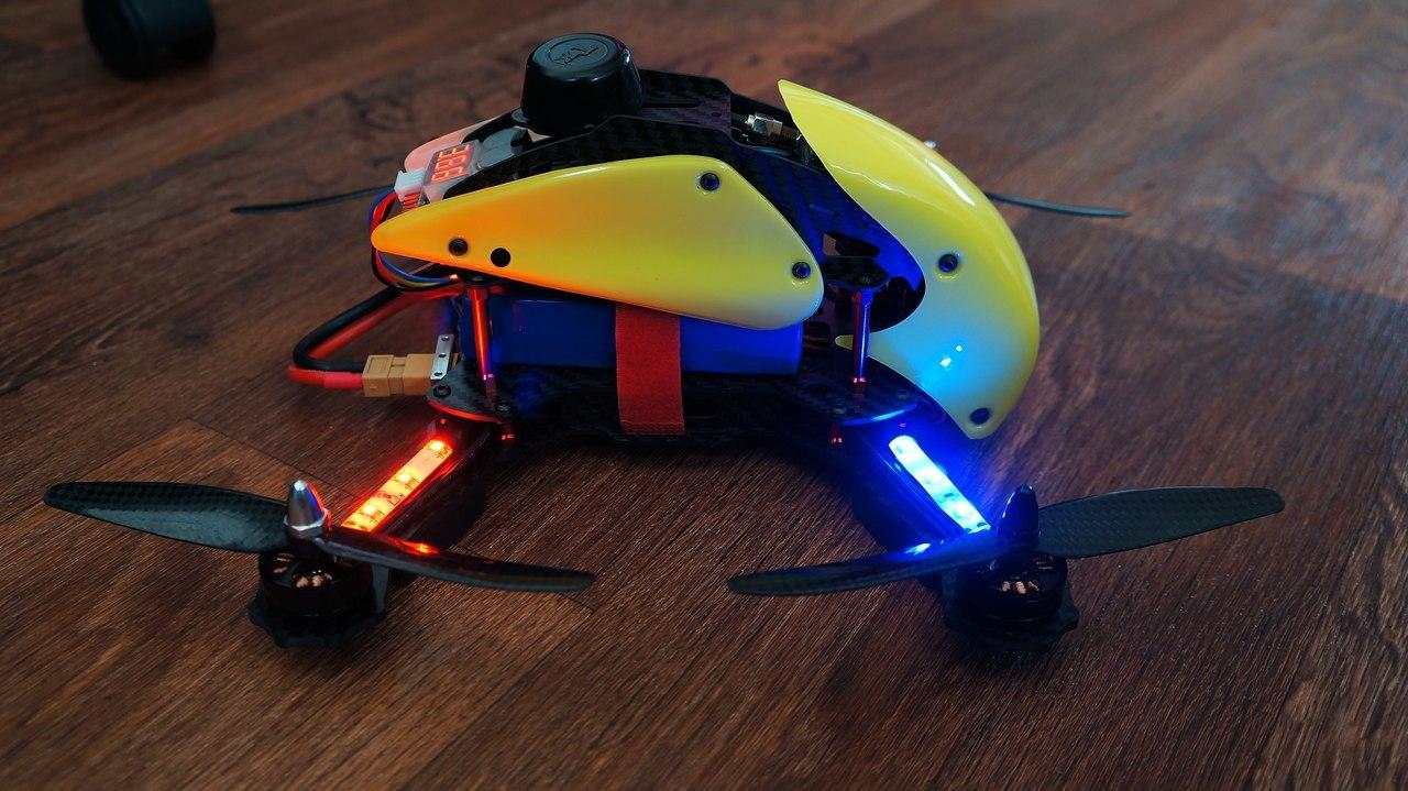 Гоночный квадрокоптер с FPV для нерезинового бюджета – Robocat 270 - 13