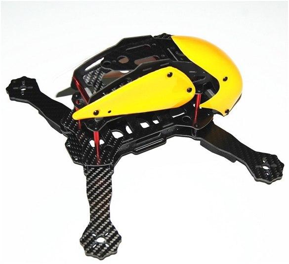 Гоночный квадрокоптер с FPV для нерезинового бюджета – Robocat 270 - 3
