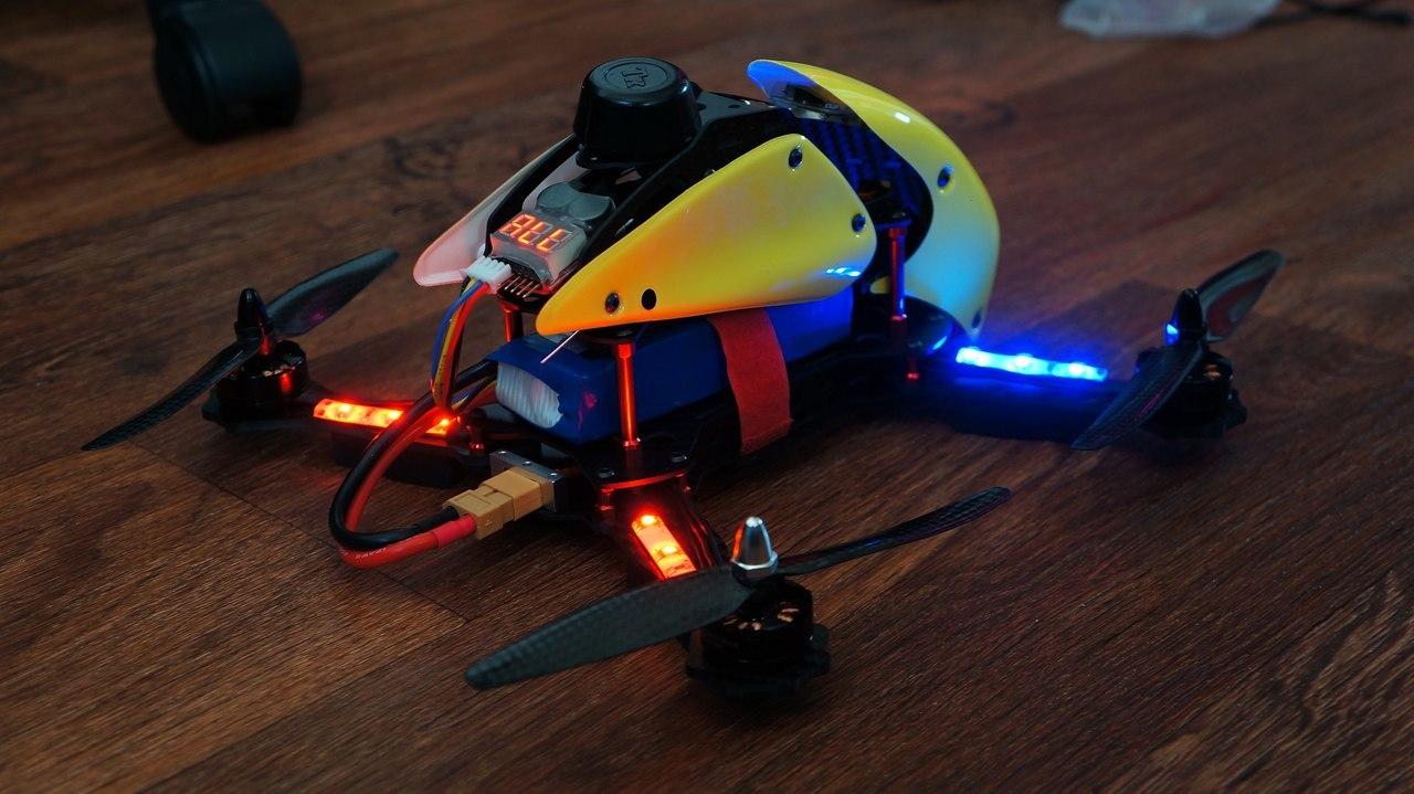 Гоночный квадрокоптер с FPV для нерезинового бюджета – Robocat 270 - 6