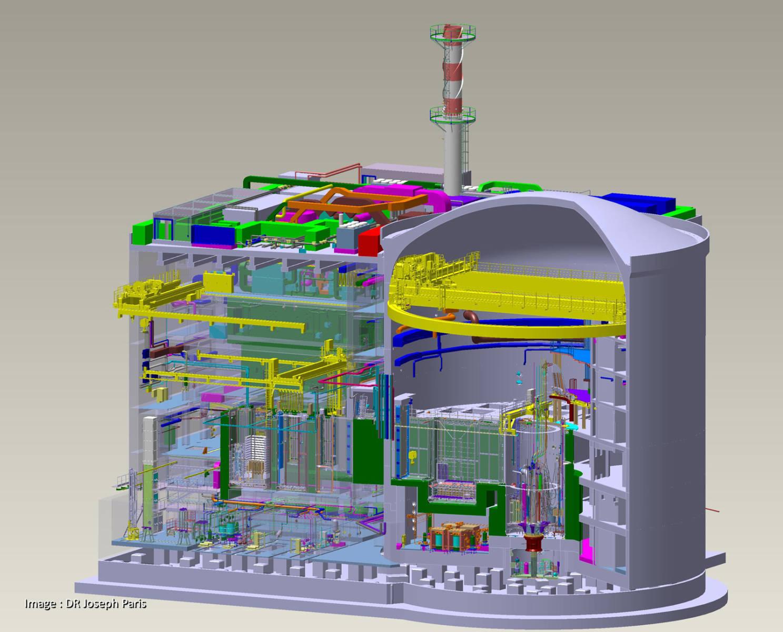 Новая ядерная лаборатория Европы — Jules Horowitz Reactor - 1