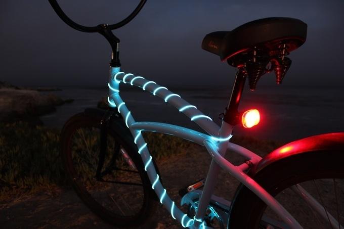 Подборка нетривиальных велосипедных фонарей с Kickstarter и не только - 17