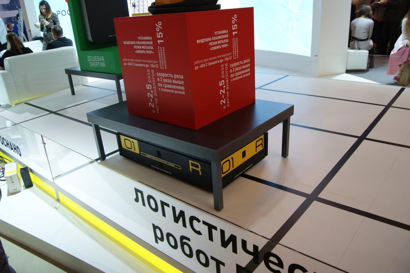 Робот побеждает человека, а затем человек ездит на роботе: видео. АПД: робот крушит стенд - 2