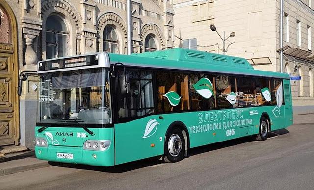 Парк московского общественного транспорта пополнят электробусы - 1