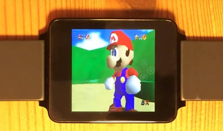 Эмуляторы Nintendo 64 и PSP удалось запустить в рабочем режиме на Android Wear - 1